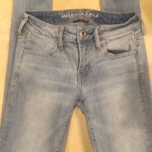 AE Stonewashed Super Stretch Jegging EUC